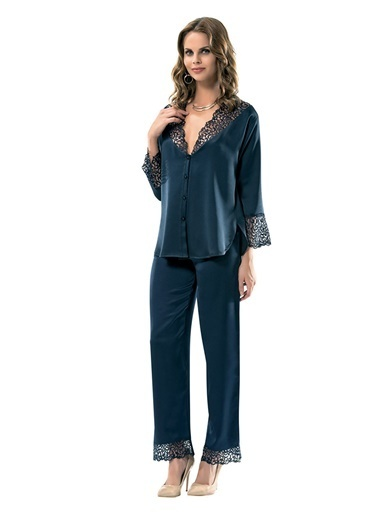 Lingabooms Pijama Takım Lacivert